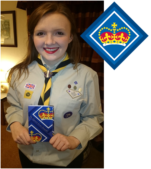Post image for Queens Scout Award for Ruth Sykes