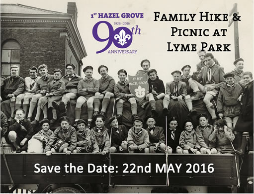 Post image for SAVE THE DATE – Family Hike and Picnic at Lyme Park 22nd May